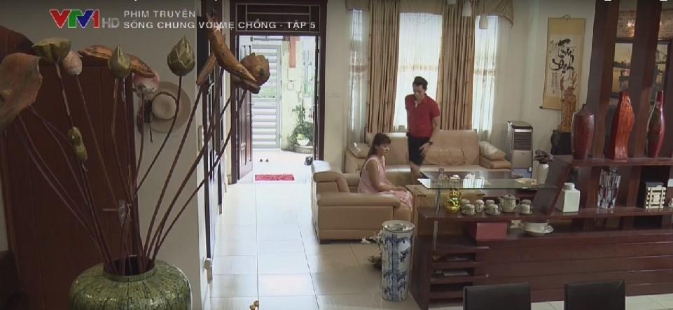 nhà đẹp, sống chung với mẹ chồng