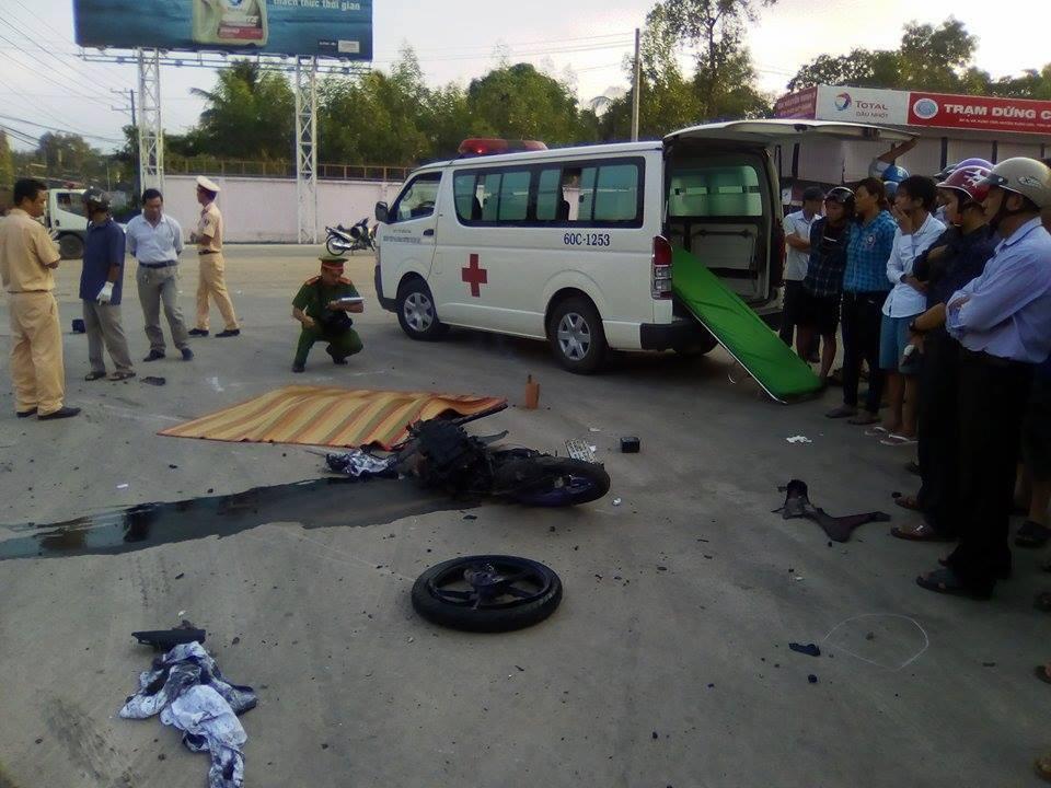 tai nạn giao thông, xe tải chở gỗ, Đồng Nai