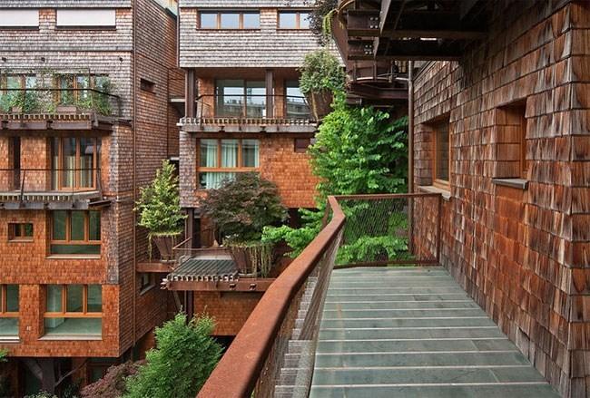 kiến trúc, công trình kiến trúc xanh, chung cư