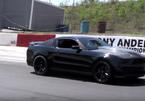 Siêu xe Mustang tan nát sau màn drift cháy lốp
