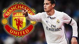 """James Rodriguez nằng nặc đòi về MU, Man City tuyển """"siêu trung vệ"""""""