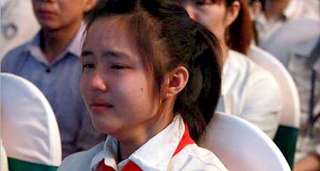 Bức thư xúc động gửi mẹ đã khuất của nữ sinh lớp 9