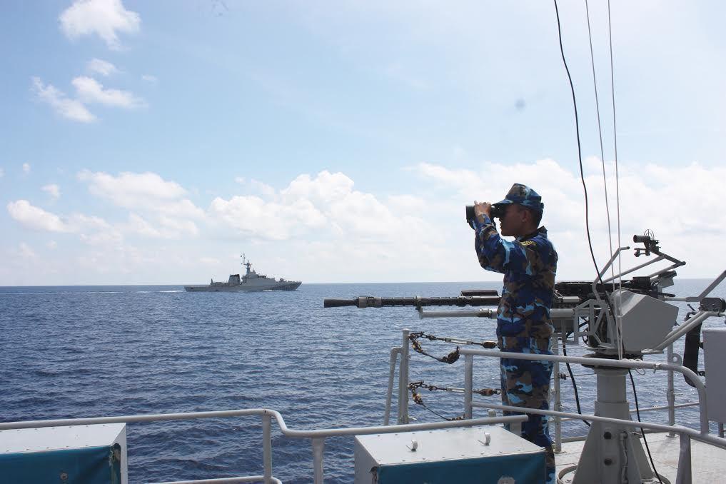 Hải quân VN tuần tra chung với hải quân Thái Lan