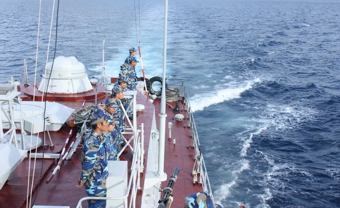 Hải quân, tuần tra chung, tàu tuần tra