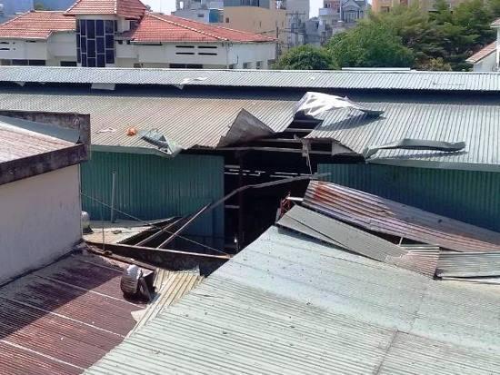 Nổ lớn tại công ty dược ở Sài Gòn, nhiều người tháo chạy