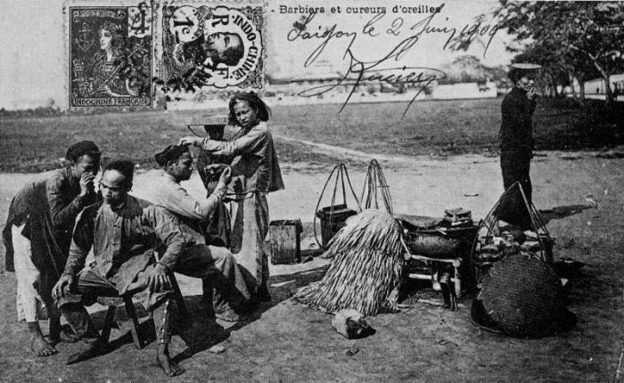 nghệ nhân, làng Kim Liên, cắt tóc, Phan Duy Hiền, Hà Nội xưa