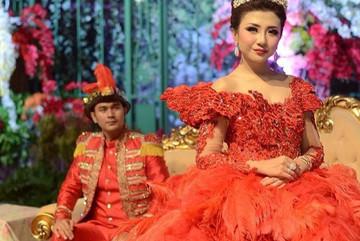 Cô dâu sở hữu bộ váy cưới nhiều like nhất Instagram