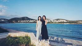 Ngọc Thanh Tâm mê mẩn trước vẻ đẹp cổ kính, hoành tráng của Hy Lạp