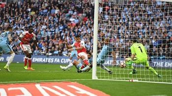Video bàn thắng Arsenal 2-1 Man City