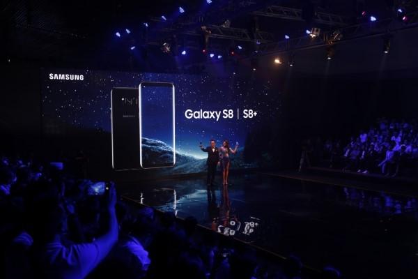Samsung giới thiệu bộ đôi Galaxy S8/S8+ tại Việt Nam