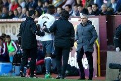 Pogba tập tễnh rời sân, Mourinho sợ điều tồi tệ nhất