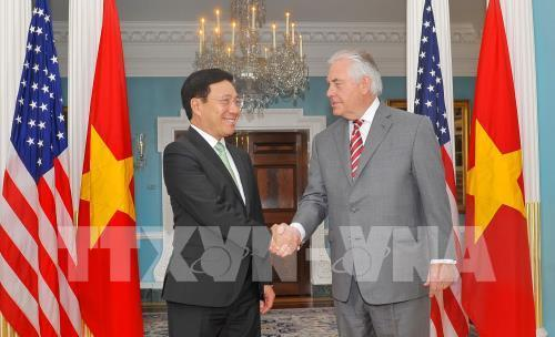 Donald Trump, Hoa Kì, quan hệ Việt - Mỹ