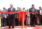 Thủ tướng dự lễ khánh thành cầu biên giới nối VN-Campuchia