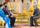 Thủ tướng yết kiến Quốc vương Campuchia