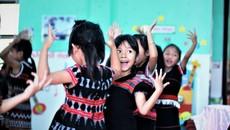 Tiết học đặc biệt ở trường mầm non biên giới Việt - Lào