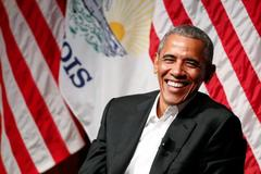 Phát biểu lần đầu sau khi rời Nhà Trắng, Obama không hề nhắc tới Trump
