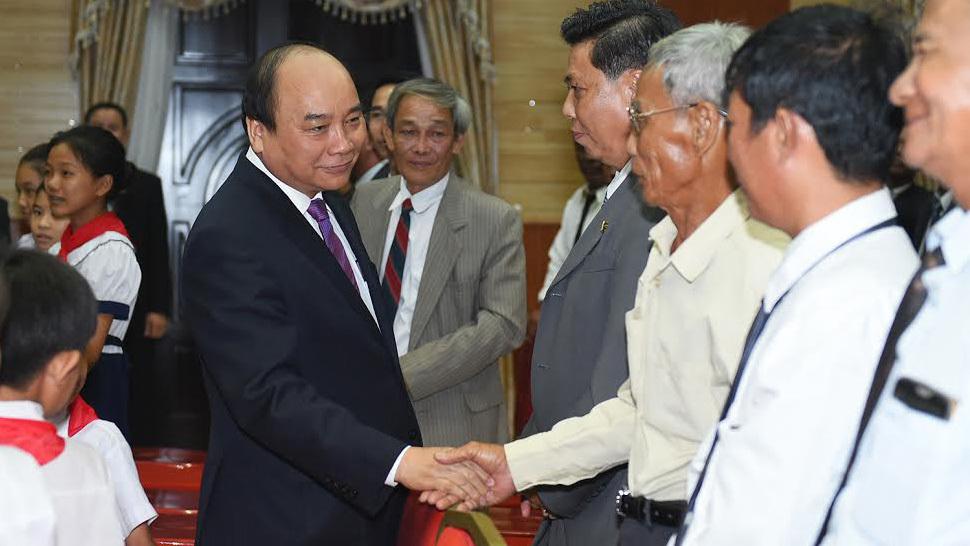 Thủ tướng Nguyễn Xuân Phúc, Thủ tướng Hun Sen, Campuchia, kiều bào