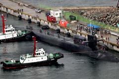 Tàu ngầm hạt nhân Mỹ đến Hàn Quốc