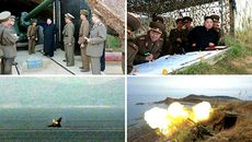 Triều Tiên tập trận bắn đạn thật lớn chưa từng có