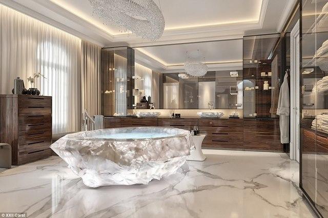 biệt thự, Dubai, siêu giàu