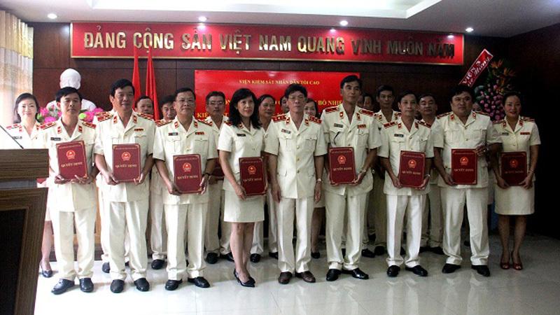 Bổ nhiệm nhân sự Bộ Công an, Viện KSNDTC