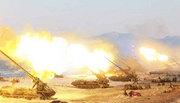 Xem Triều Tiên tập trận bắn đạn thật lớn chưa từng có