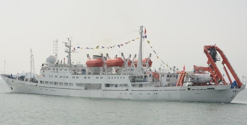 Tàu lặn Trung Quốc đến khu vực tác nghiệp trên Biển Đông