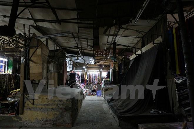 chợ Ngã Tư Sở, chợ Hà Nội, tiểu thương, kinh doanh
