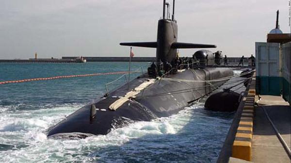 Uy lực khủng khiếp của tàu ngầm Mỹ áp sát Triều Tiên