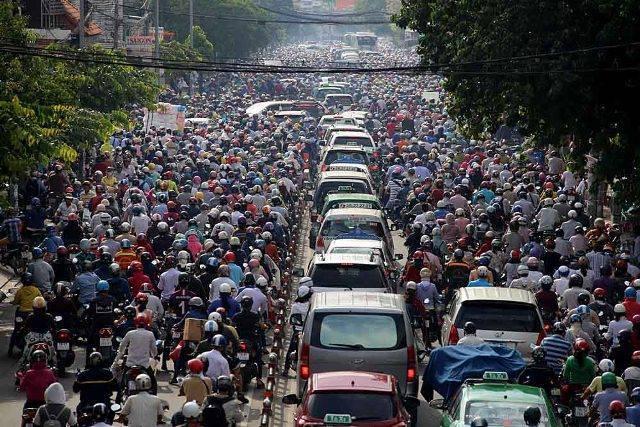 cấm xe máy, đề án cấm xe máy, giảm ùn tắc giao thông,hạn chế phương tiện cá nhân