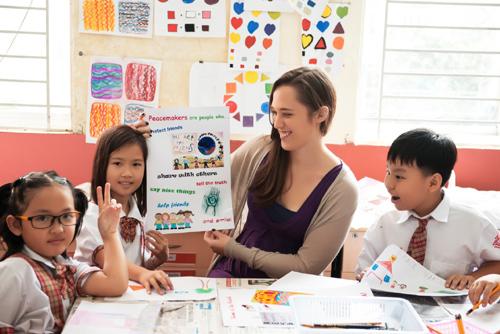 Trải nghiệm giáo dục Hoa Kỳ tại Việt Nam