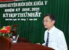Kiểm điểm Chủ tịch huyện vì bổ nhiệm sai cán bộ