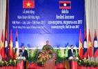 Thủ tướng Việt, Lào phát động Năm đoàn kết hữu nghị 2017