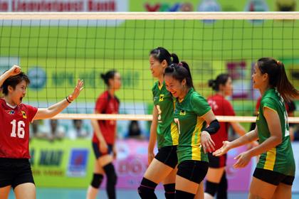 VTV Bình Điền Long An xuất sắc lấy vé vào bán kết