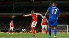 Video bàn thắng Arsenal 1-0 Leicester