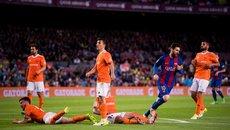 """Messi nhảy múa, Barca đại thắng """"7 sao"""""""