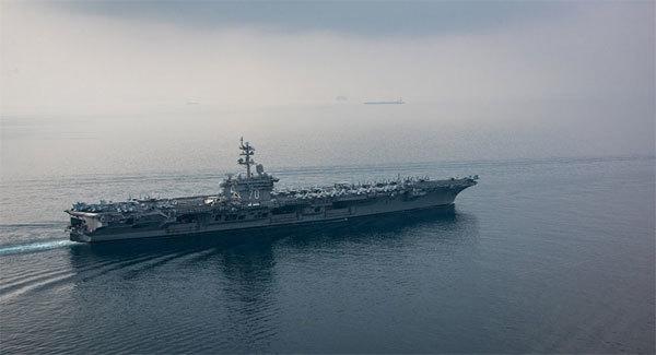 Siêu tàu sân bay Mỹ vào vị trí đưa Triều Tiên 'vào tầm ngắm'