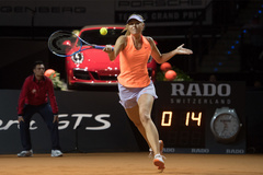 Loại cựu số 7 thế giới, Sharapova tái xuất đầy ấn tượng