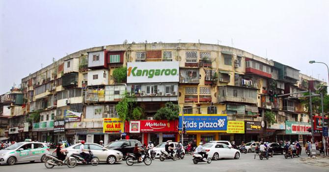 chung cư cũ Thành Công, quy hoạch Hà Nội