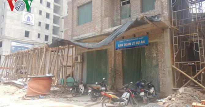 công trình sai phạm, xây dựng, dự án Trương Định Complex