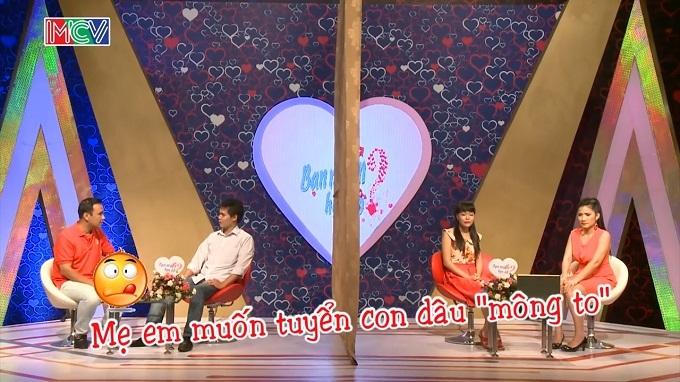 Bạn muốn hẹn hò, MC Cát Tường, MC Quyền Linh, tình yêu