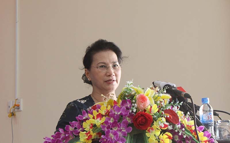 Cử tri kể khổ với Chủ tịch QH việc tranh chấp đất đai