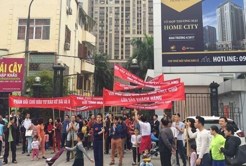 dự án Home City Trung Kính, phí bảo trì chung cư