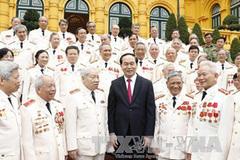 Chủ tịch nước gặp mặt đại biểu công an chi viện chiến trường miền Nam