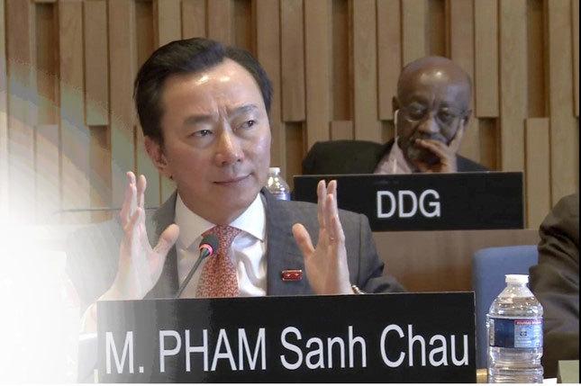 Phạm Sanh Châu, TGĐ UNESCO