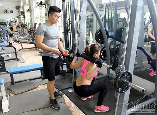 tăng cân, bài tập tăng cân, tập gym