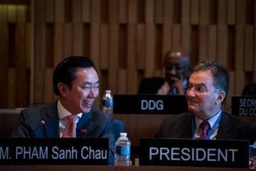 Đại sứ Phạm Sanh Châu tranh cử cho chức vụ TGĐ UNESCO