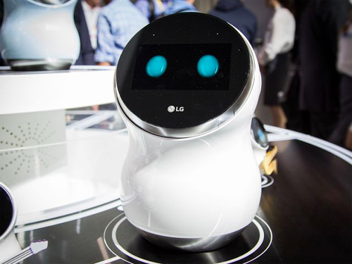 Những sản phẩm 'độc' cho ngôi nhà thông minh của LG