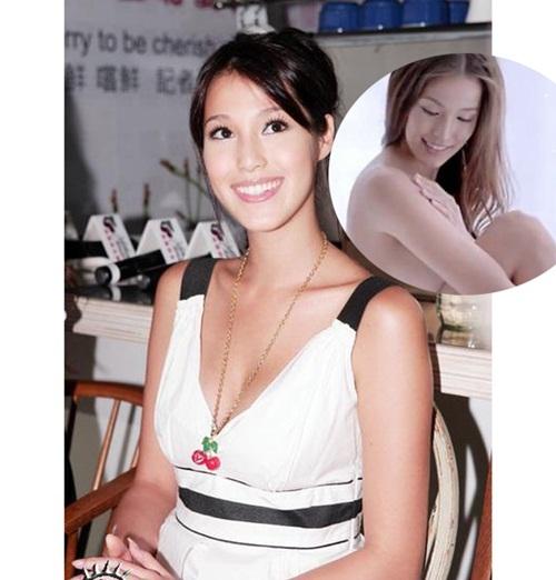 Khoe thân trong quảng cáo sữa, siêu mẫu bị cấm sóng