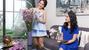 'Mẹ chồng' Lan Hương và 'nàng dâu' Bảo Thanh vui vẻ làm người mẫu